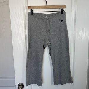 Champion Gray Capri Sweats